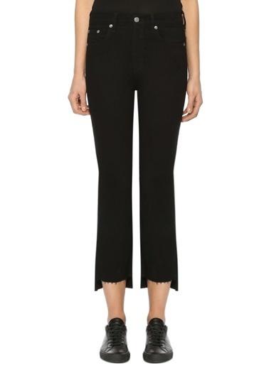 Rag&Bone Yüksek Bel Boru Paça Jean Pantolon Siyah